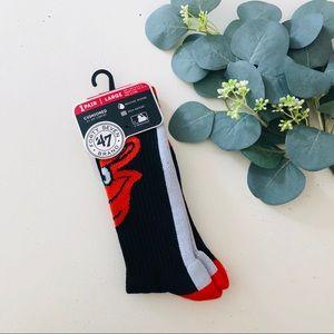 47 Forty Seven Brand Orioles Socks